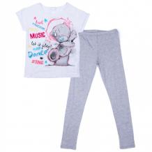 Купить s'cool комплект трикотажный для девочек (футболка и брюки) домашний уют 574102