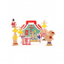 Купить деревянная игрушка kipod toys набор-балансир цирковое шоу kt-100