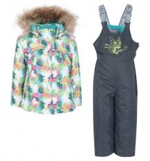 Купить комплект куртка/полукомбинезон kvartett, цвет: бирюзовый ( id 9585246 )