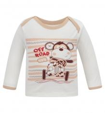 Купить футболка мелонс обезьянка, цвет: бежевый ( id 6925075 )