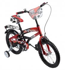 Купить двухколесный велосипед leader kids g16bd406, цвет: красный/черный g16bd406