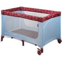 Купить кровать-манеж happy baby martin, голубой ( id 11589722 )