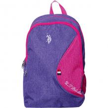 Купить рюкзак u.s. polo assn, фиолетовый ( id 12245204 )