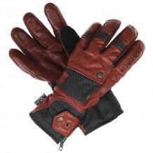 Купить перчатки сноубордические dakine sabre glove burgundy / black stripes бордовый 1205693