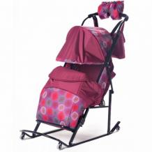 Купить санки-коляска kristy comfort plus 3b bk