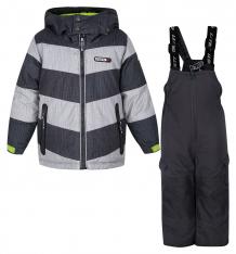 Купить комплект куртка/полукомбинезон gusti boutique, цвет: серый/черный ( id 6501115 )