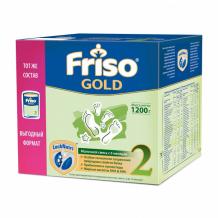 Купить friso заменитель фрисолак 2 gold с 6 мес. 1200 г 8716200720595