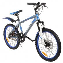 Купить двухколесный велосипед capella g20s651, цвет: темно-серый/синий g20s651dark grey+blue