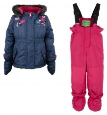 Купить комплект куртка/полукомбинезон peluche&tartine, цвет: синий ( id 9987606 )