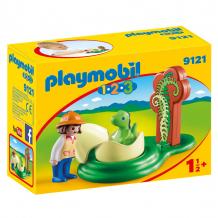 Купить конструктор playmobil девочка и яйцо динозавра 9121pm