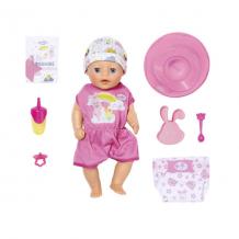 Купить zapf creation baby born 827-321 бэби борн my little baby born девочка нежное прикосновение, 36 см