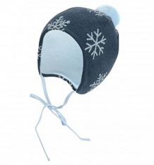 Купить шапка krochetta, цвет: синий ( id 9782115 )