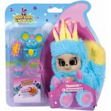 "Купить интерактивная игрушка bush baby world ""пушастик"",14 см, голубой ( id 12589041 )"