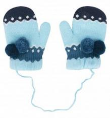 Купить варежки bony kids, цвет: голубой ( id 9805503 )