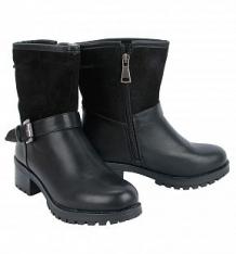 Купить сапоги milton, цвет: черный ( id 7089973 )