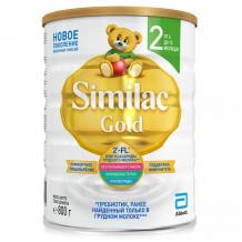 Купить similac молочная смесь 2 gold с 6 до 12 мес. 800 г 539152305816
