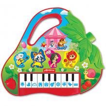 """Купить музыкальная игрушка азбукварик """"пианино"""" клубничка ( id 10533323 )"""