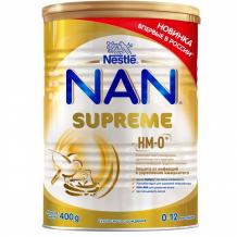 Купить nan сухая смесь supreme для детей с рождения 400 г 12377135