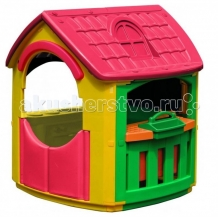 Palplay (Marian Plast) Игровой домик + гараж 664