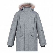 Купить куртка crockid, цвет: серый ( id 11932030 )