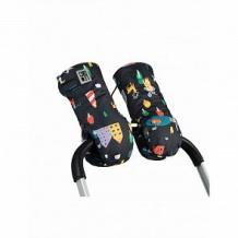 Купить муфты-варежки leokid andersen для коляски, цвет: черный ( id 11627536 )