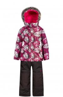Купить комплект куртка/полукомбинезон zingaro by gusti, цвет: розовый/серый ( id 6495061 )