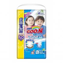 Купить goon подгузники-трусики унисекс xl (12-20 кг) 50 шт. 100000752