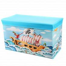 Купить корзина для игрушек наша игрушка пират ( id 12745648 )