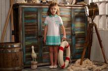 Платье Lucky Child Поло, цвет: белый ( ID 2579939 )