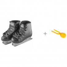 Купить atemi коньки двухполозные snow baby aksk-17.10 и 1 toy игрушка для формирования снежков