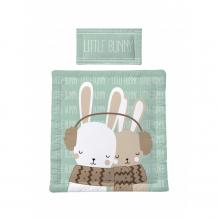 Купить amarobaby exclusive creative комплект в коляску little bunny (3 предмета) amaro-36ms-cclb