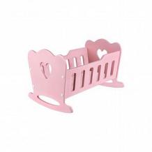 Купить кроватка для куклы rodent kids «mommy» розовая 45 х 20 х 30 см ( id 11844112 )
