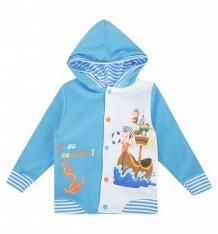 Купить толстовка babyglory морские приключения, цвет: голубой ( id 8560189 )