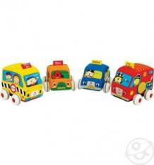 Набор инерционных машинок K's Kids 4 штуки ( ID 171340 )
