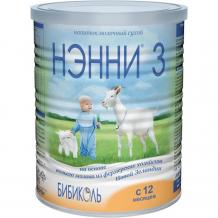 Купить бибиколь нэнни 3 молочная смесь на основе козьего молока от 1 года 400 г 9421025230776
