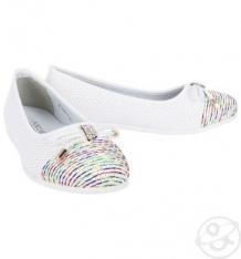 Купить туфли indigo kids, цвет: белый ( id 2620199 )