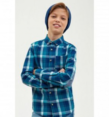 Купить рубашка concept club, цвет: синий ( id 10335998 )