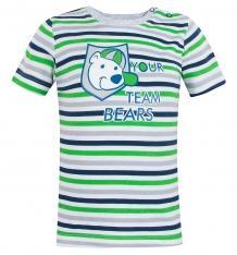 Купить футболка mamatti, цвет: серый/синий ( id 8159437 )
