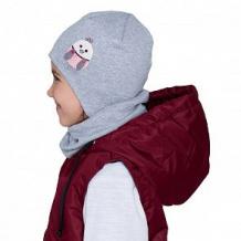 Купить шапка hohloon, цвет: серый ( id 12605086 )