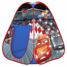Купить john игровая светящаяся детская палатка тачки 75x75x90 см 72512