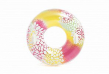 Купить надувной круг intex прозрачный с ручками 97 см, 5х97 ( id 187833 )