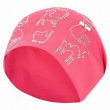 Купить шапка levelpro kids кошечки, цвет: розовый ( id 10458353 )