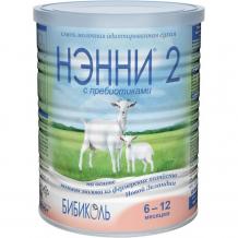 Купить бибиколь нэнни 2 молочная смесь с пребиотиками на основе козьего молока с 6 мес. 400 г 9421025230400