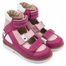 Купить сандалии tapiboo, цвет: малиновый/розовый ( id 12349678 )