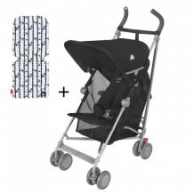 Купить коляска-трость maclaren sherpa с матрасиком happy panda wd1g350012