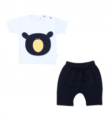 Купить комплект футболка/шорты aga bear, цвет: голубой/синий ( id 8230357 )