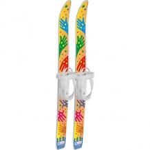 """Купить лыжи детские """"лыжики пыжики"""" ручки с палками, в сетке (75/75) 10277109"""