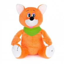 Купить мягкая игрушка maxi play лисенок шалунишка озвученный 20 см mp-071822
