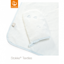 Купить полотенце с капюшоном stokke blue sea ocs stokke 997007307