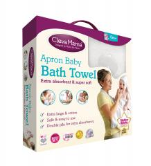 Купить полотенце-фартук clevamama splash n wrap apron, 104х98 см clevamama 997019096